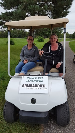 Bombardier Beverage Cart