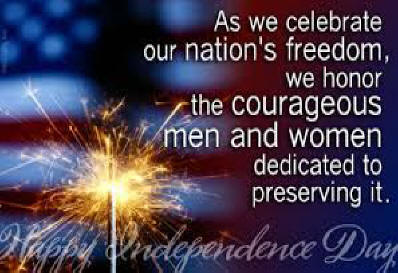 Happy July 4th Independance Day!