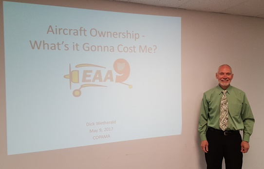"Dr. Richard Wetherald "" Aircraft Ownership Costs"""