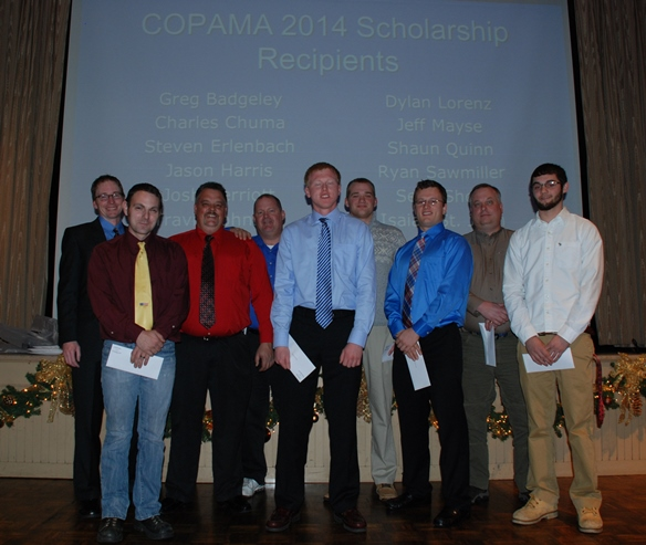 2014 Scholarship Fund Awardees in attendance.